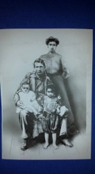 Sudie and Lune Draper and oldest kids Millage and Lillian Draper (Milton Draper's parents) 1910 Talladega Alabama