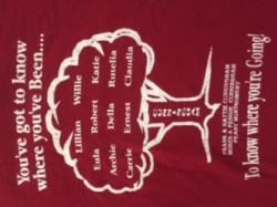 Front of 1995 Reunion T-shirt