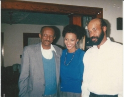 Bennie Frank (BF) his son Mike and daughter-Diane-1989